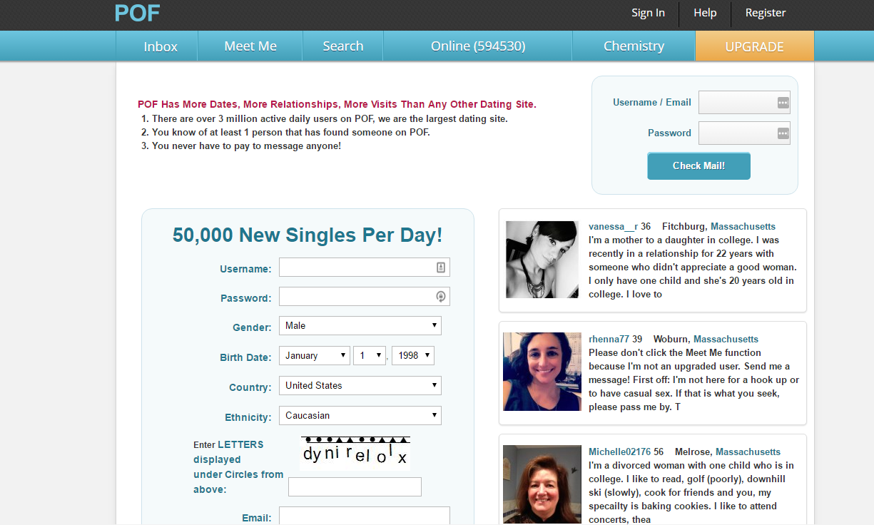 free dating websites like plenty fish